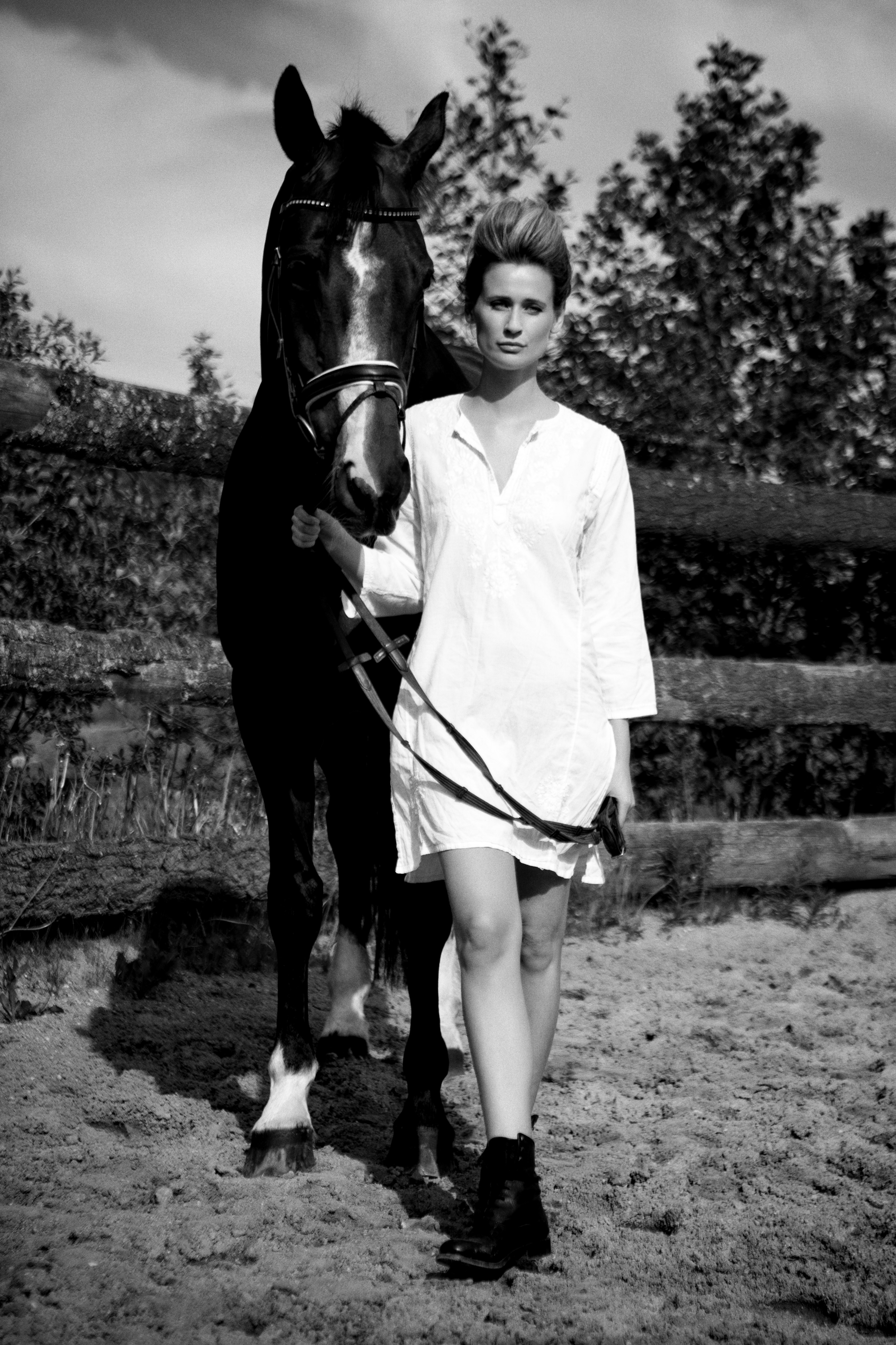 Model: Karoline Leth - Fotograf: Thomas Agatz ‹ ADO Style